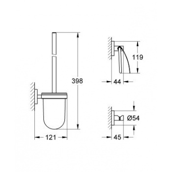 Набор Grohe Essentials New (40407001), фото 2